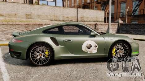 Porsche 911 Turbo 2014 [EPM] Ghosts for GTA 4 left view