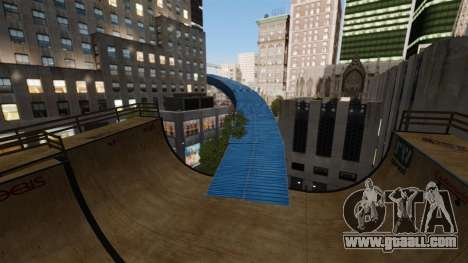 Algonquin Stunt Ramp for GTA 4 forth screenshot