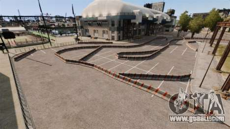 River Side Drift Track for GTA 4 second screenshot