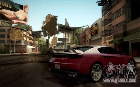 Elegy RH8 from GTA V for GTA San Andreas right view
