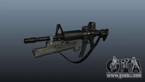 Automatic carbine M4A1 v3 for GTA 4