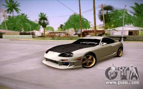 Toyota Supra RZ 1998 Drift for GTA San Andreas inner view