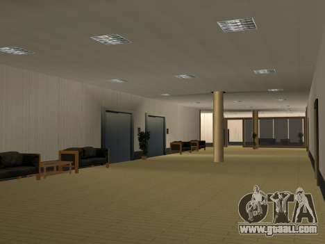 New textures Interior City Hall for GTA San Andreas ninth screenshot