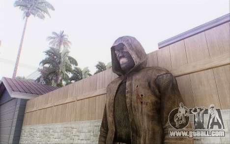 Bandit in the cloak for GTA San Andreas forth screenshot