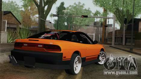 Nissan 240Sx Drift Edition for GTA San Andreas left view