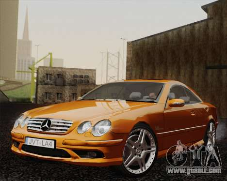 Mercedes-Benz CL65 for GTA San Andreas back left view