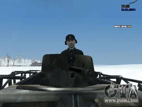 SdKfz 251 for GTA San Andreas