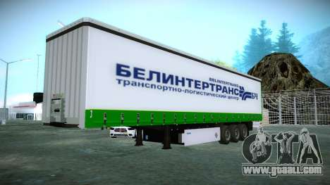 The trailer Krone for Volvo FH16 for GTA San Andreas