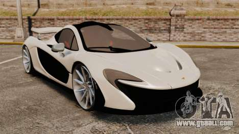 McLaren P1 2014 for GTA 4