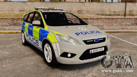 Ford Focus Estate Norfolk Constabulary [ELS] for GTA 4