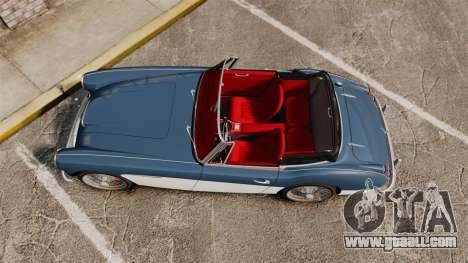 Austin-Healey 3000 Mk III 1965 for GTA 4 right view