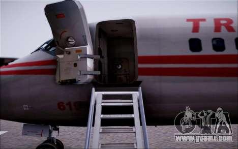 McDonnel Douglas DC-9-10 for GTA San Andreas bottom view