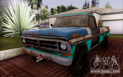 Ford F-150 Old Crate Edition for GTA San Andreas right view
