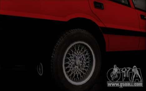 FSO Polonez Caro 1.4 GLI 16V for GTA San Andreas back left view