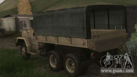 AM General M35A2 1950 for GTA San Andreas left view