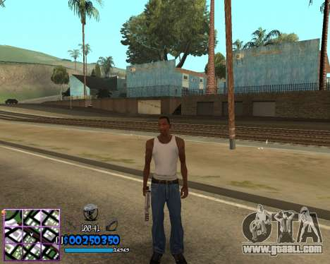 C-HUD by Dony Scofield for GTA San Andreas second screenshot