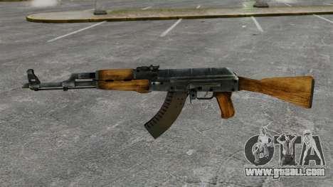 AK-47 for GTA 4 third screenshot