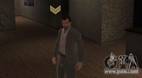 Michael De Santa from GTA V for GTA 4 second screenshot