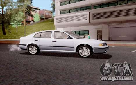 Skoda Octavia for GTA San Andreas left view
