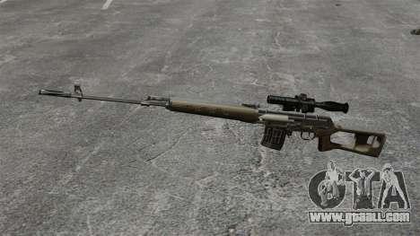 Dragunov sniper rifle v2 for GTA 4 third screenshot
