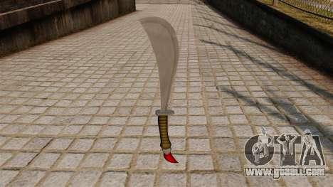 Dagger for GTA 4