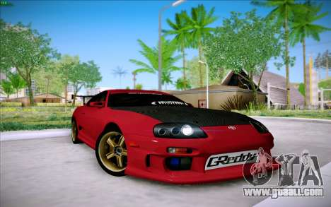 Toyota Supra RZ 1998 Drift for GTA San Andreas left view