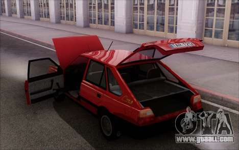 FSO Polonez Caro 1.4 GLI 16V for GTA San Andreas bottom view