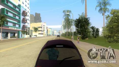 Ford Ka for GTA Vice City right view