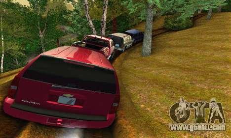 Chevrolet Suburban 2008 for GTA San Andreas back view