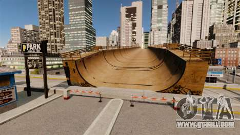 Algonquin Stunt Ramp for GTA 4