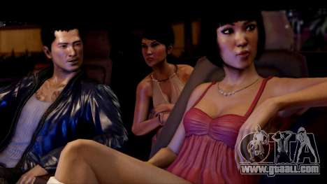 Boot screen Sleeping Dogs for GTA 4 third screenshot