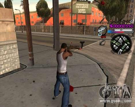 C-HUD by Andy Cardozo for GTA San Andreas second screenshot