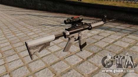 Automatic carbine M4A1 Scoped for GTA 4 second screenshot
