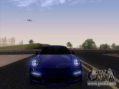 Porsche 911 GT3 2014 for GTA San Andreas back view