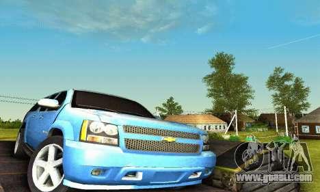 Chevrolet Suburban 2008 for GTA San Andreas interior