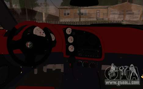 Alfa Romeo TZ3 2011 for GTA San Andreas back view
