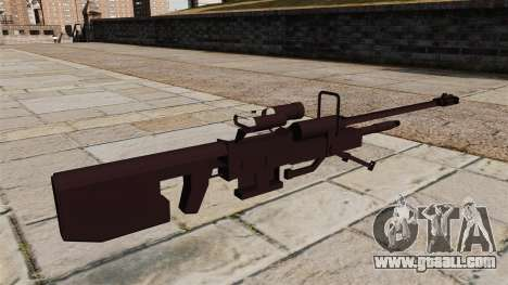 Halo sniper rifle for GTA 4 second screenshot