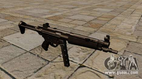 Submachine gun MP5 black stalker for GTA 4
