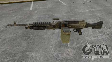 General-purpose machine gun M240B for GTA 4 third screenshot