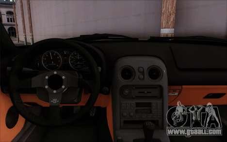 Mazda Miata for GTA San Andreas right view