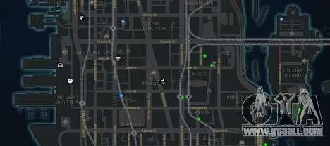 CG4 Radar Map v1.1 for GTA 4 third screenshot
