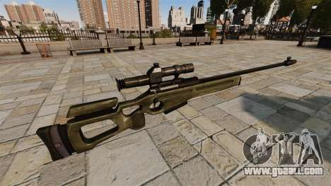 SV-98 sniper rifle for GTA 4 second screenshot