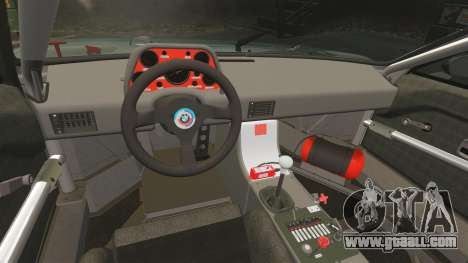 BMW M1 [EPM] for GTA 4 upper view