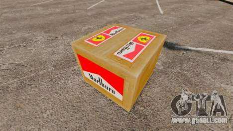 New logos on boxes for GTA 4 third screenshot