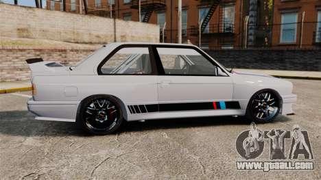 BMW M3 1990 Race version for GTA 4 left view
