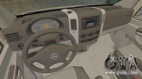 Mercedes-Benz Sprinter 2500 2011 v1.4 for GTA 4 back view
