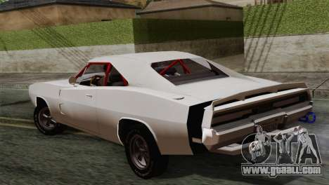 Dodge Charger 6o for GTA San Andreas left view