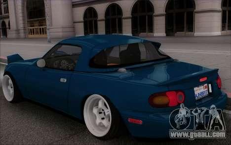 Mazda Miata for GTA San Andreas side view