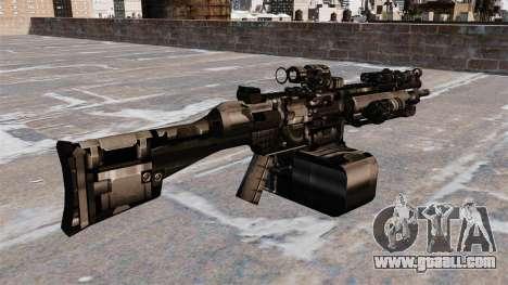 General-purpose machine gun HK23E for GTA 4 second screenshot