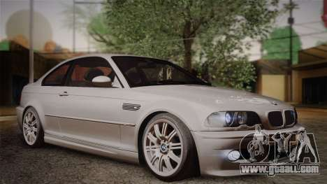 BMW E46 M3 Coupe for GTA San Andreas right view
